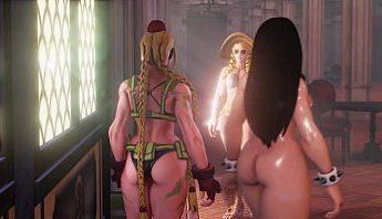 街頭霸王3D成人H遊戲~春麗全身抹油裸體格鬥遊戲實況,H遊戲、快打旋風、春麗、街頭霸王、裸體成人影片、免費A片